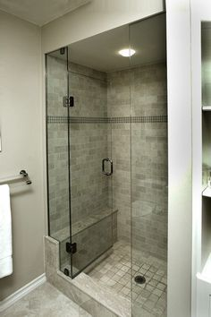 Reasonable Size Shower Stall For A Small Bathroom More