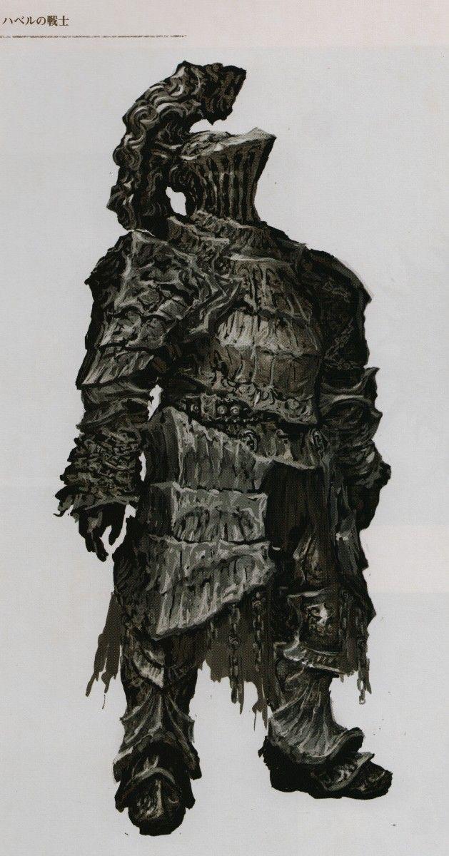 Dark Souls Character Design Process : Dark souls concept art havel videogame