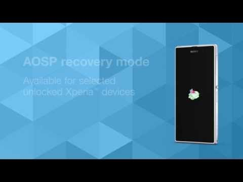 Aosp Recovery Mode Available On Selected Unlocked Xperia Devuces