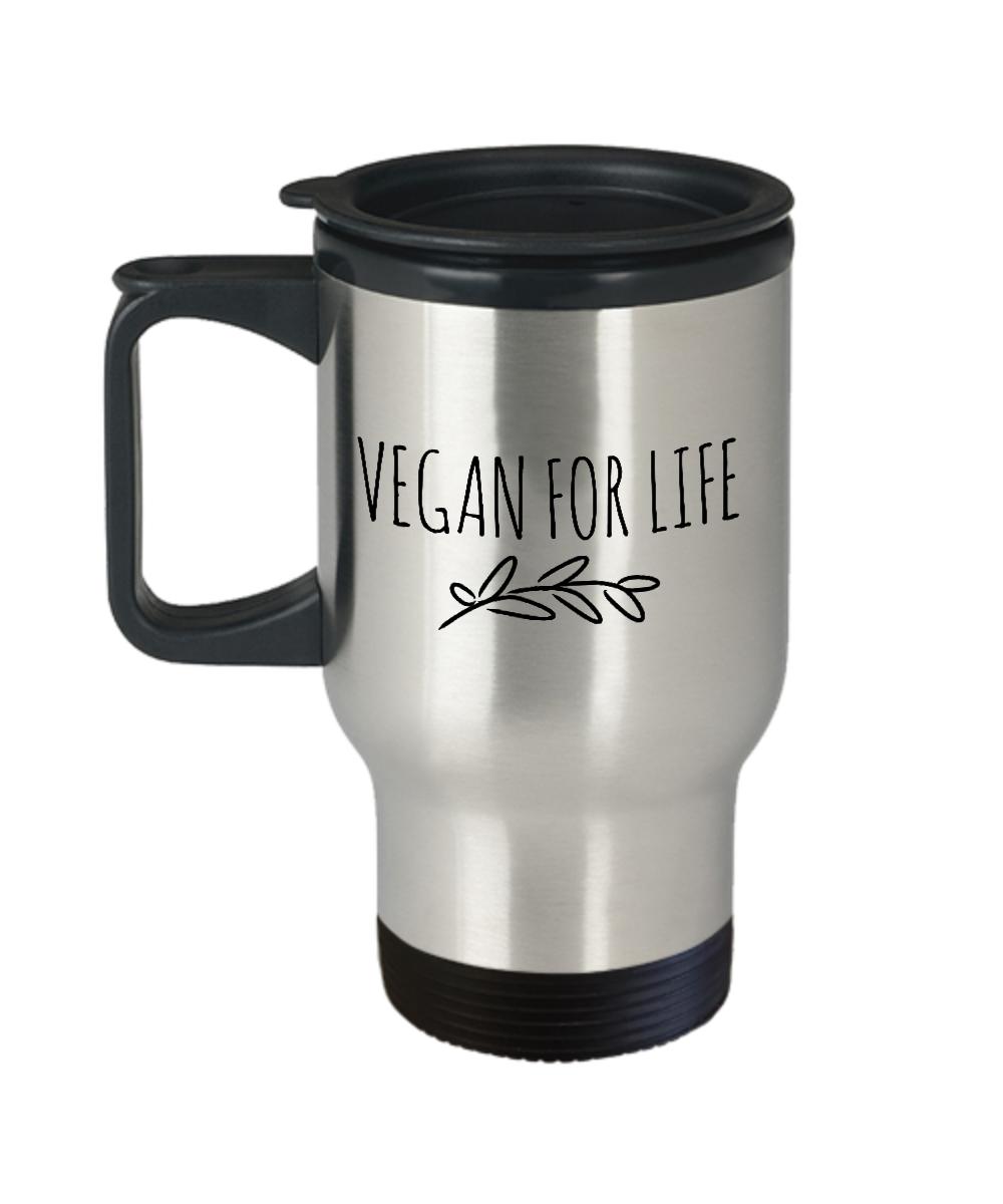 Funny Travel Mug For Vegan 14oz