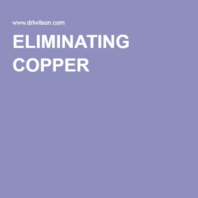 ELIMINATING COPPER