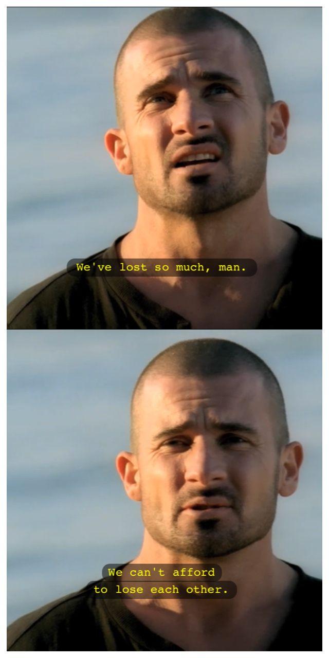 prison break michael and sara relationship quotes