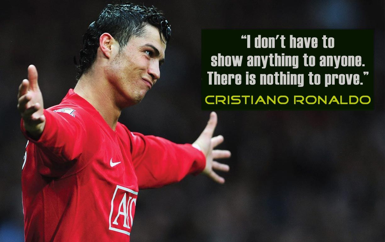 Ronaldo has some quotes which are inspiring, interesting and ...
