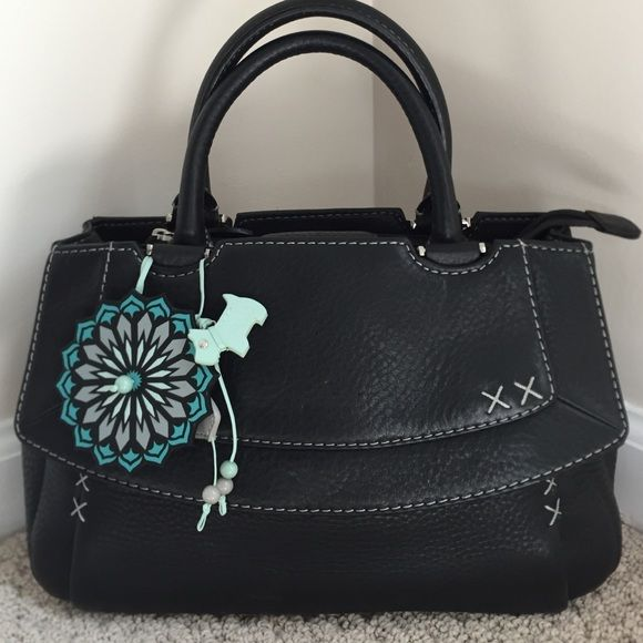 Radley Of London Leather Purse Adorable Handbag Used One Time Like New Small Scuff That Can Be Buffed Out With Cleaner