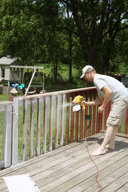 Maryjanes And Galoshes Painting What A Difference It Makes Decks And Porches Deck Paint Deck Makeover