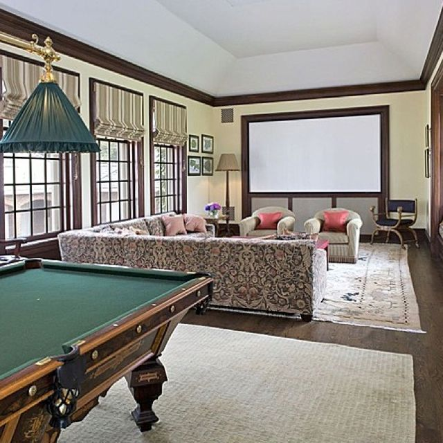 realistic man cave but with better decor and no pool on incredible man cave basement decorating ideas id=82102