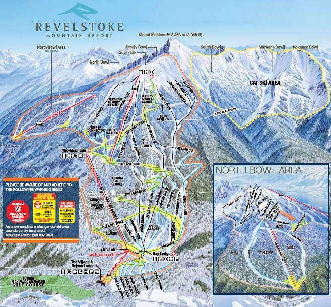 Awesome guide to skiing Revelstoke Mountain Resort by Tony ...