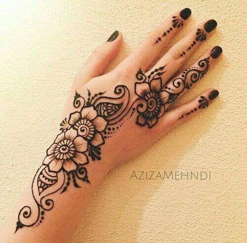 ياحنه ياحنه ياحنه رسومات حنه اخر جمال منتدى فتكات Simple Henna Tattoo Henna Tattoo Designs Simple Henna Tattoo Designs