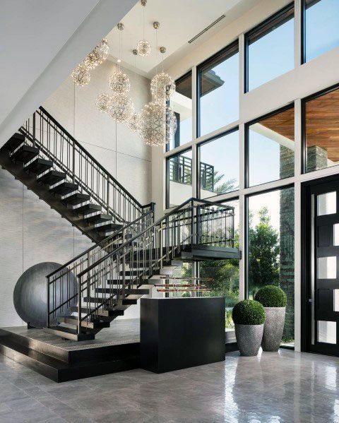 Best Top 70 Best Stair Railing Ideas Indoor Staircase Designs 400 x 300