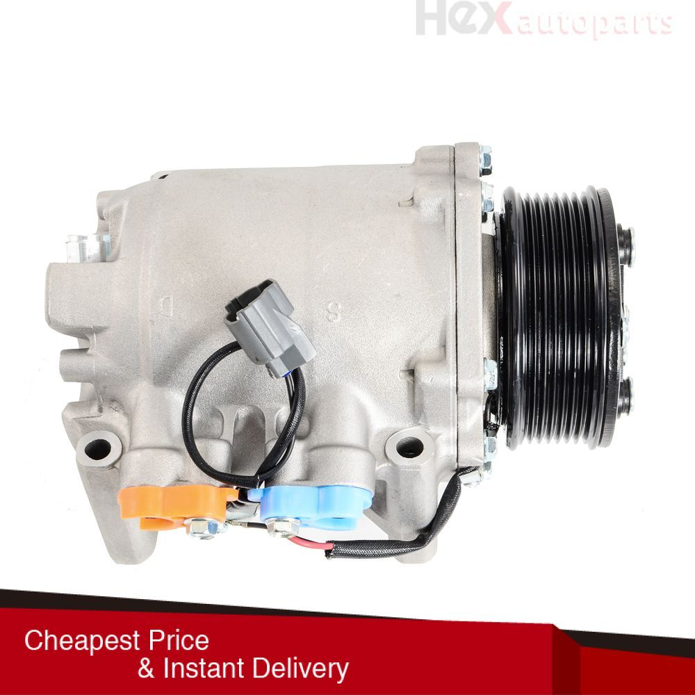 Hex AutoParts- AC Compressor With Clutch A/C For 02-06