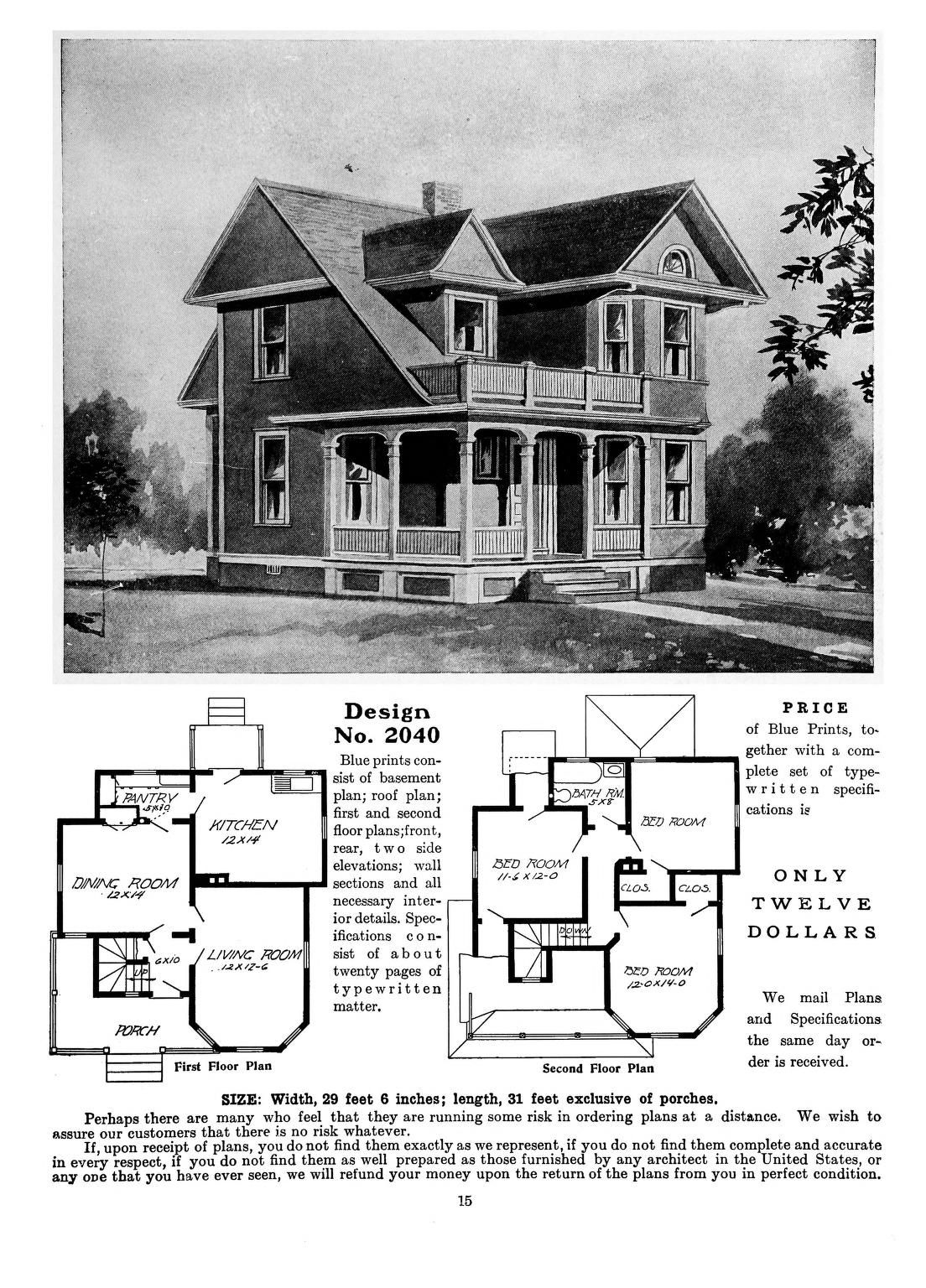 Radford S Artistic Homes 250 Designs Radford Architectural Company Free Download Borrow And Streaming House Plans Vintage House Plans House Floor Plans House Plans