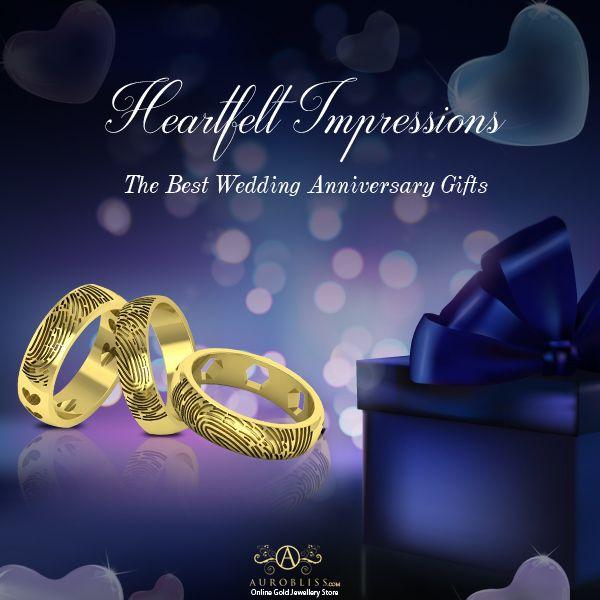 Precious Fingerprint Ring Indian Online Gold Jewellery Store