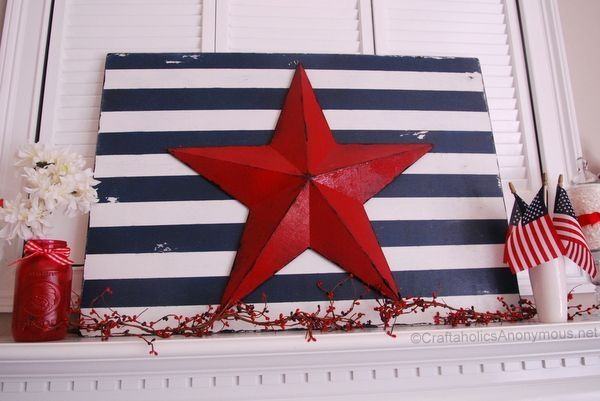 fourth of july craft by marcy
