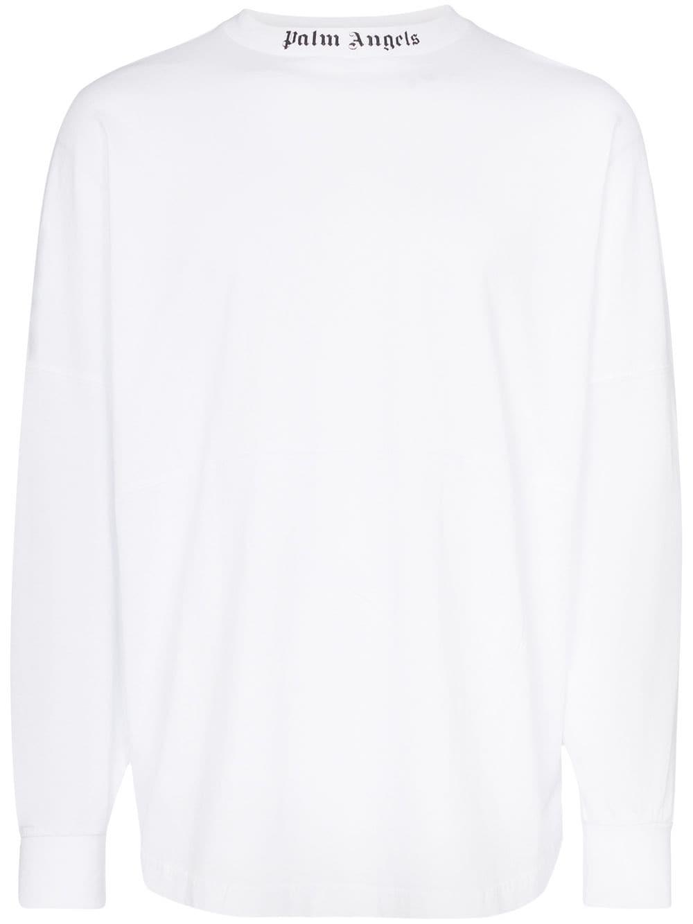 Pin By Modesens Men On Dibujos Para Remeras In 2021 Angels Logo Print T Shirt Palm Angels [ 1334 x 1000 Pixel ]