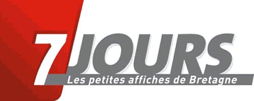 7 jours Les petites affiches de Bretagne, journal d'annonces légales à Rennes, région Bretagne.