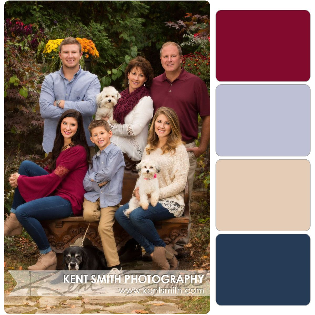 My favorite color combo so far #familyphotooutfits