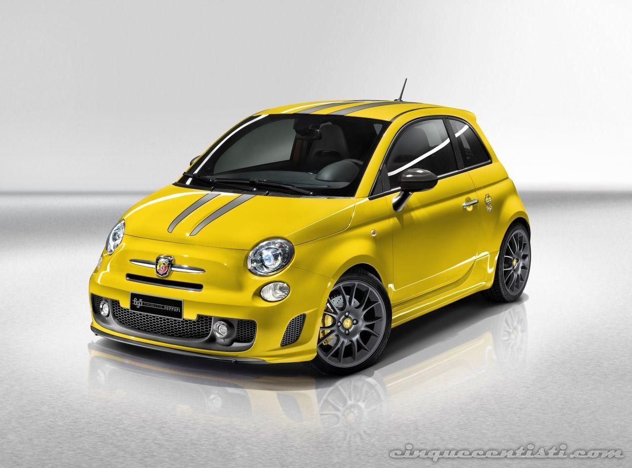 Fiat Abarth 695 cc  livrea_gialla