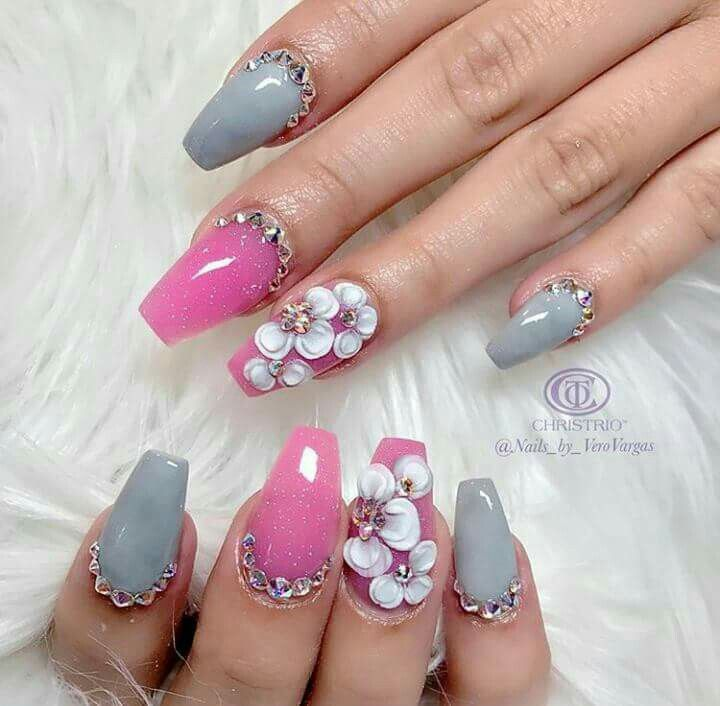 Pin by Noemi Yost on Nail Designs | Pinterest | Coffin nails ...