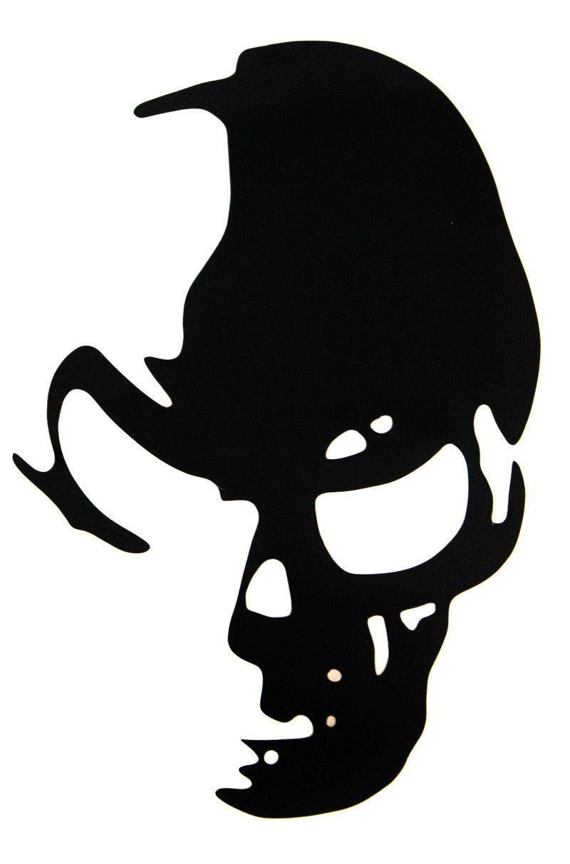 Car styling sticker ghost rider skull