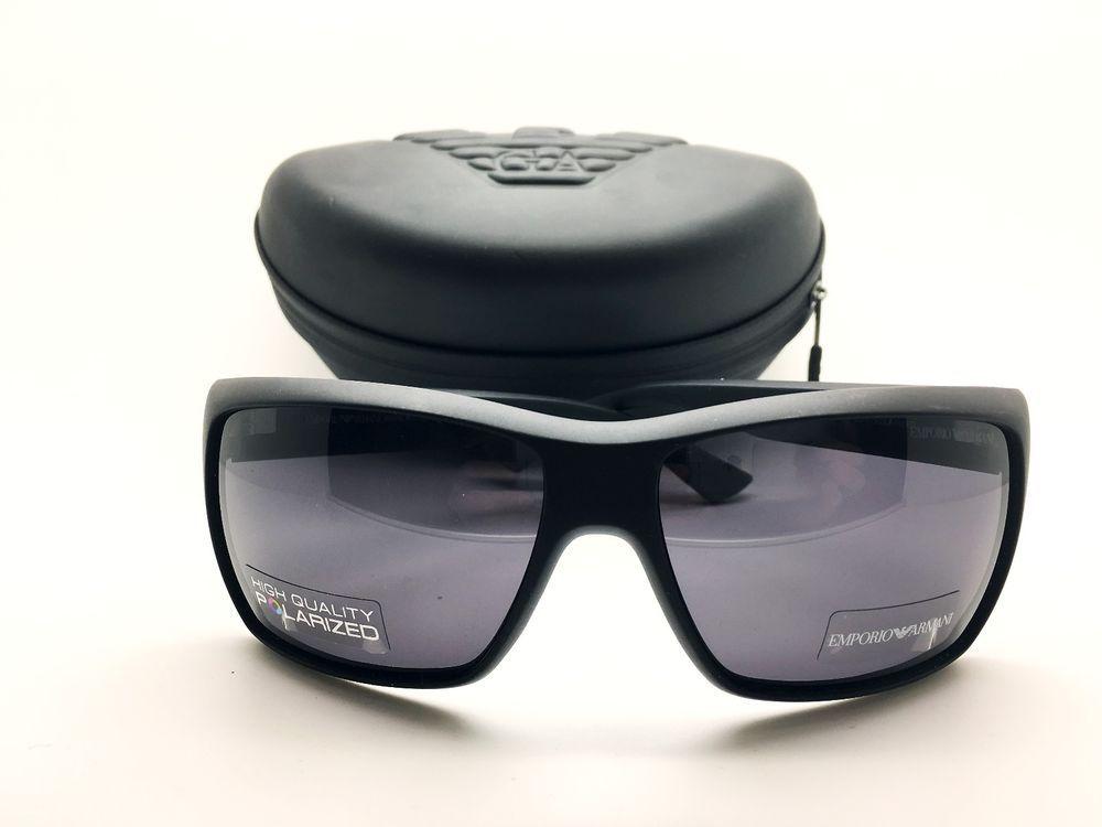 713e63667d5a Emporio Armani Sunglasses Men's EA 9797 S Black Made In Italy Authentic +  Case #EmporioArmani #Designer