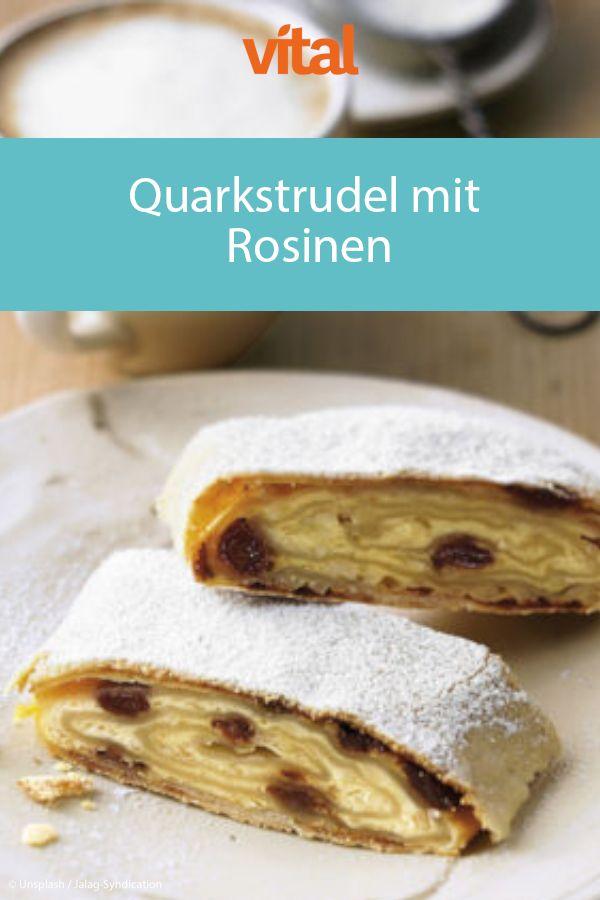 quarkstrudel mit rosinen mit bildern rezepte kuchen