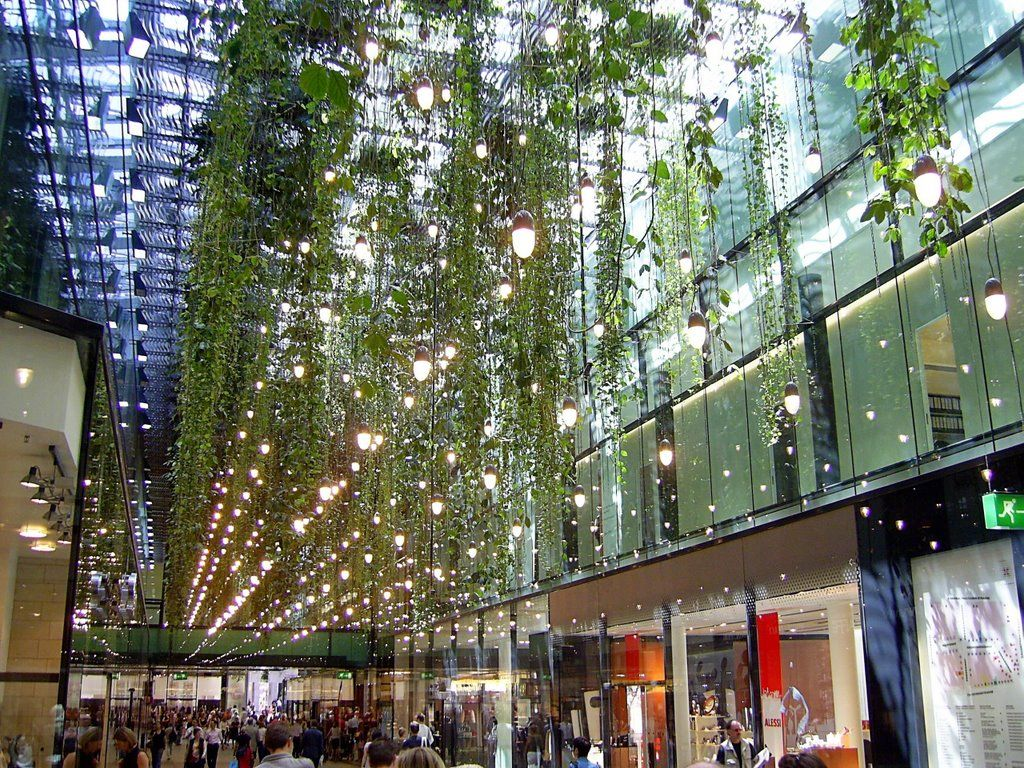 F Nf H Fe Hanging Garden Shopping Mall Munich