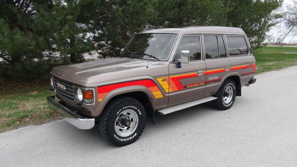 1986 Toyota Land Cruiser VX Toyotaclassiccars Land