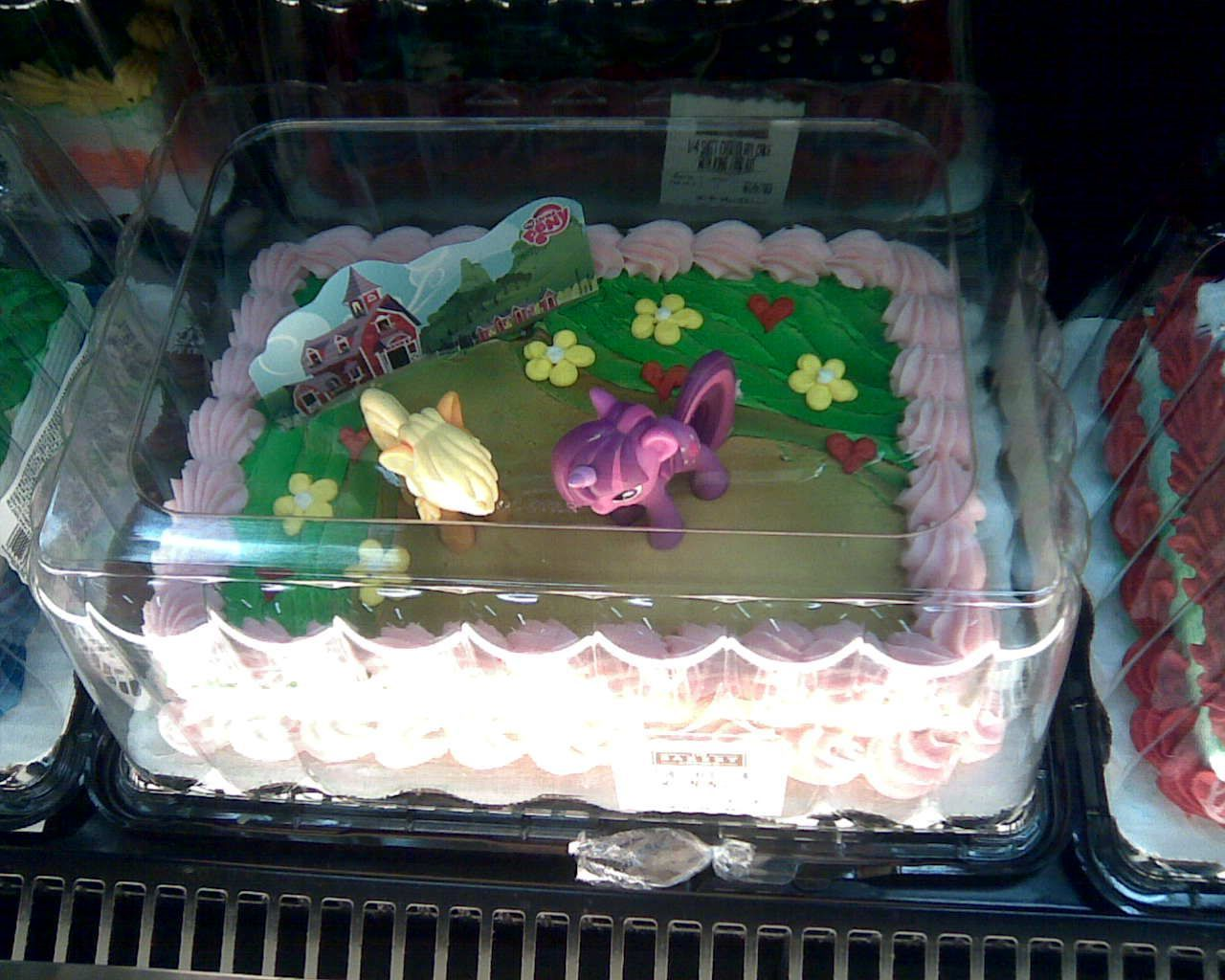 Pleasant More Pony Cakes At Wal Mart Walmart Birthday Cakes Elmo Funny Birthday Cards Online Overcheapnameinfo