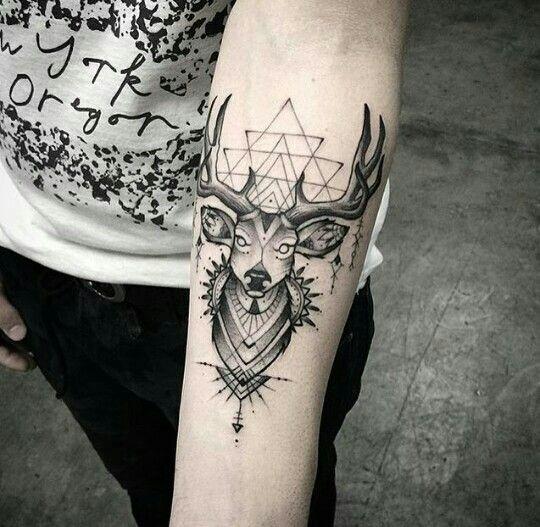 Tatto Tatuaje Venado Estilo Tatuaje Venado Tatuaje Ciervo Y