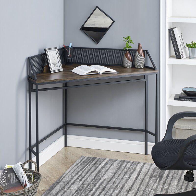 Bowie Corner Desk Wohnzimmer Schreibtisch Kleiner Lebensraum Kleiner Eckschreibtisch