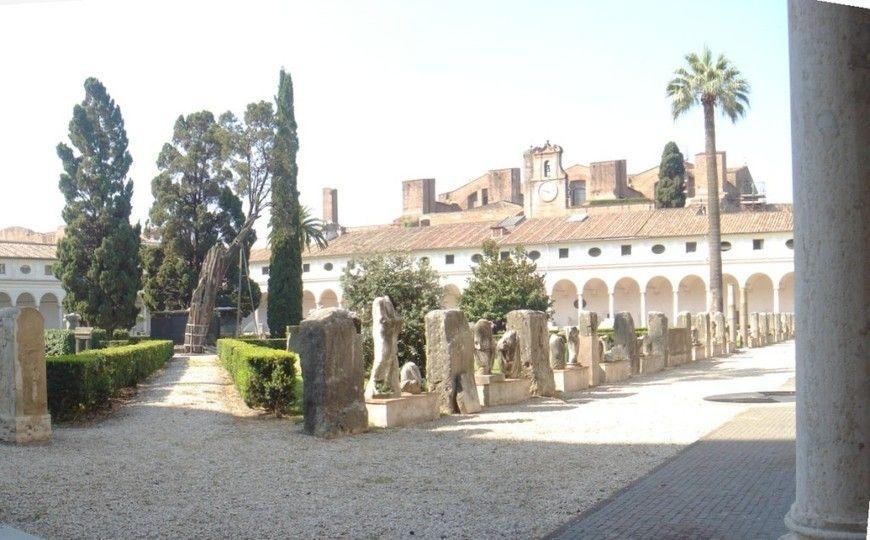 Michelangelo sloopt een stukje thermen | Rome | Ciao Tutti! Italiaanse Zaken