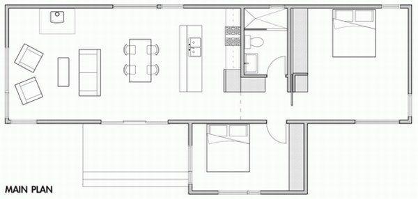 Casas prefabricadasson viviendas que se construyen al igual que cualquier otra casa, con madera y todos los productos muy duraderos, pero se fabrican fuer