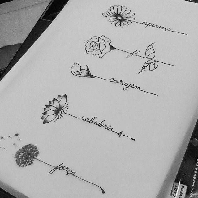 Criações Exclusivas Disponiveis Para Serem Tatuadas Comigo A