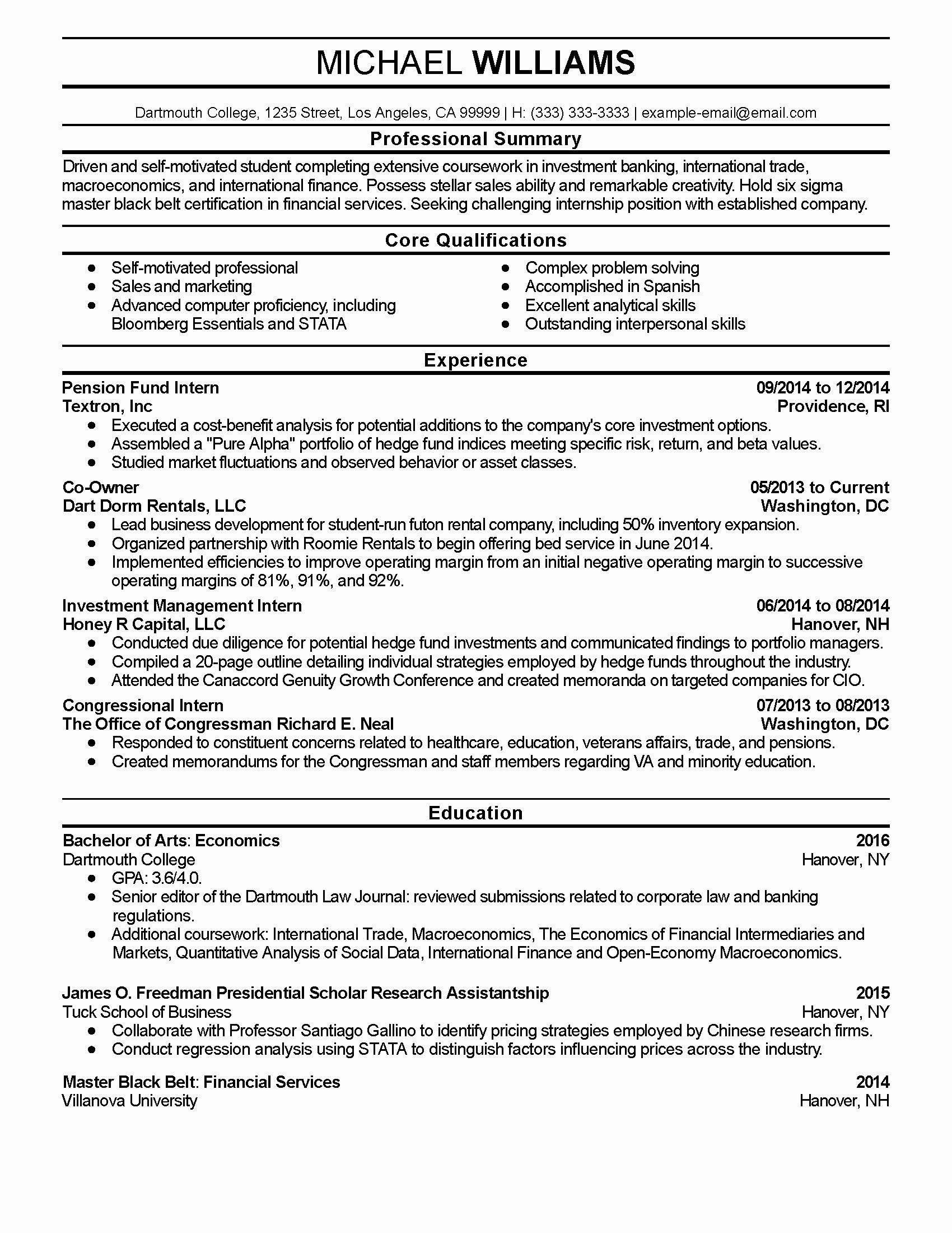 Business Intelligence Analyst Resume Elegant Business