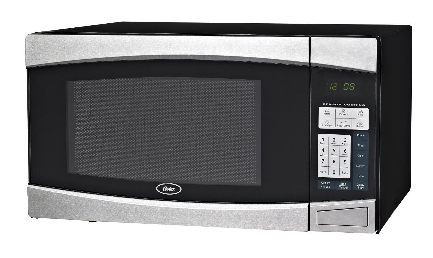 Oster Microwave The Oster Microwave Is An Excellent Microwave To Produce Delectable Popcorn B With Images Digital Microwave Black Microwave Countertop Microwave