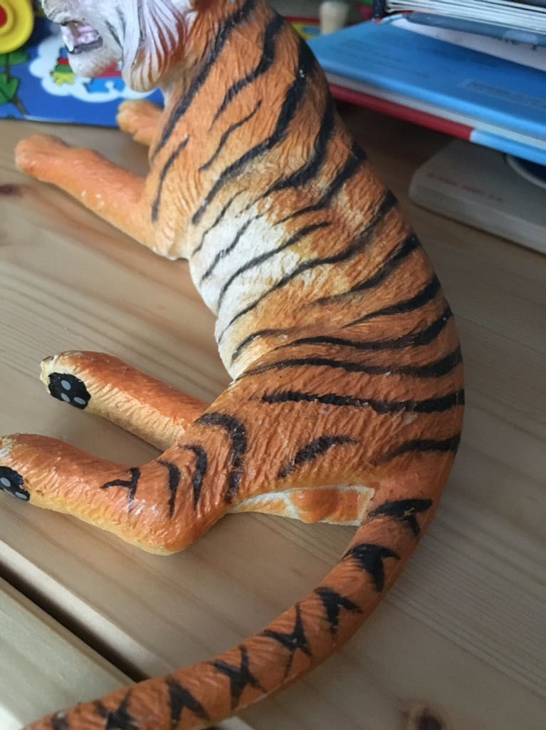 Toy manufacturer felt my son's tiger needed to be as accurate as possible.