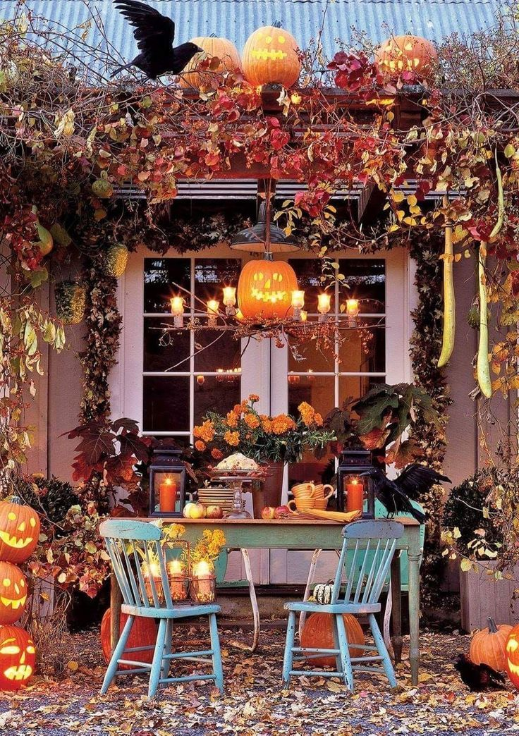 - #automne #falldecorideasfortheporch