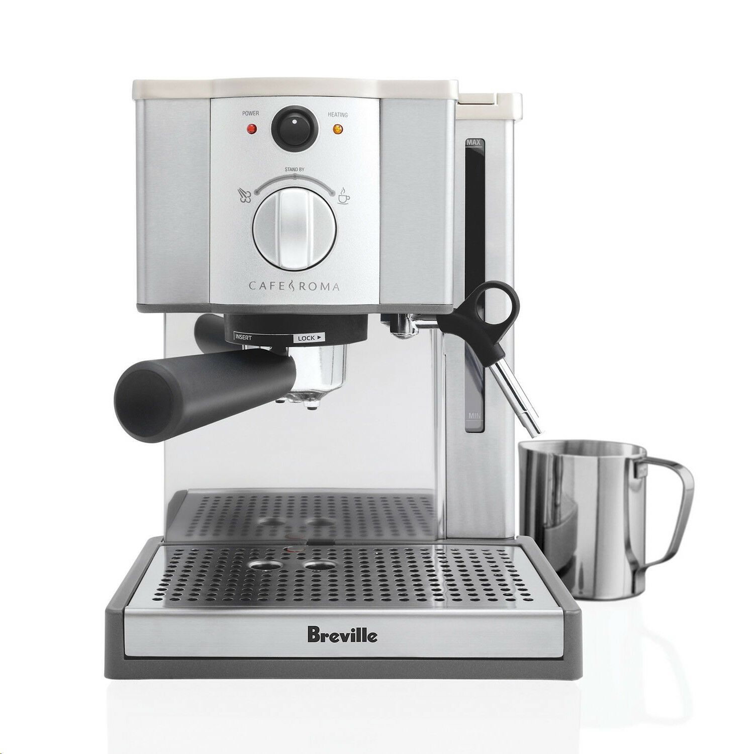 Breville Esp8xl Cafe Roma Stainless Espresso Maker 21614034274 Ebay In 2020 Breville Espresso Machine Breville Cafe Roma Espresso Machine Best Espresso Machine