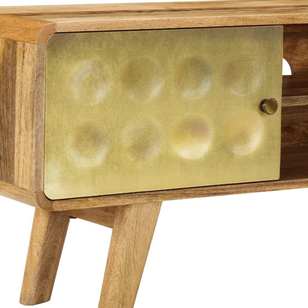 vidaXL TV Cabinet Solid Mango Wood 120x30x45 cm
