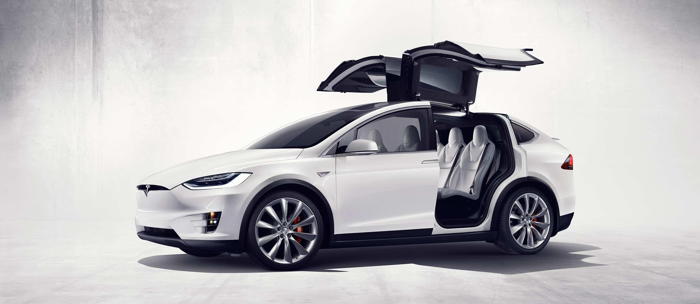 نتيجة بحث الصور عن سيارة ايلون ماسك  اس يو في موديل X.