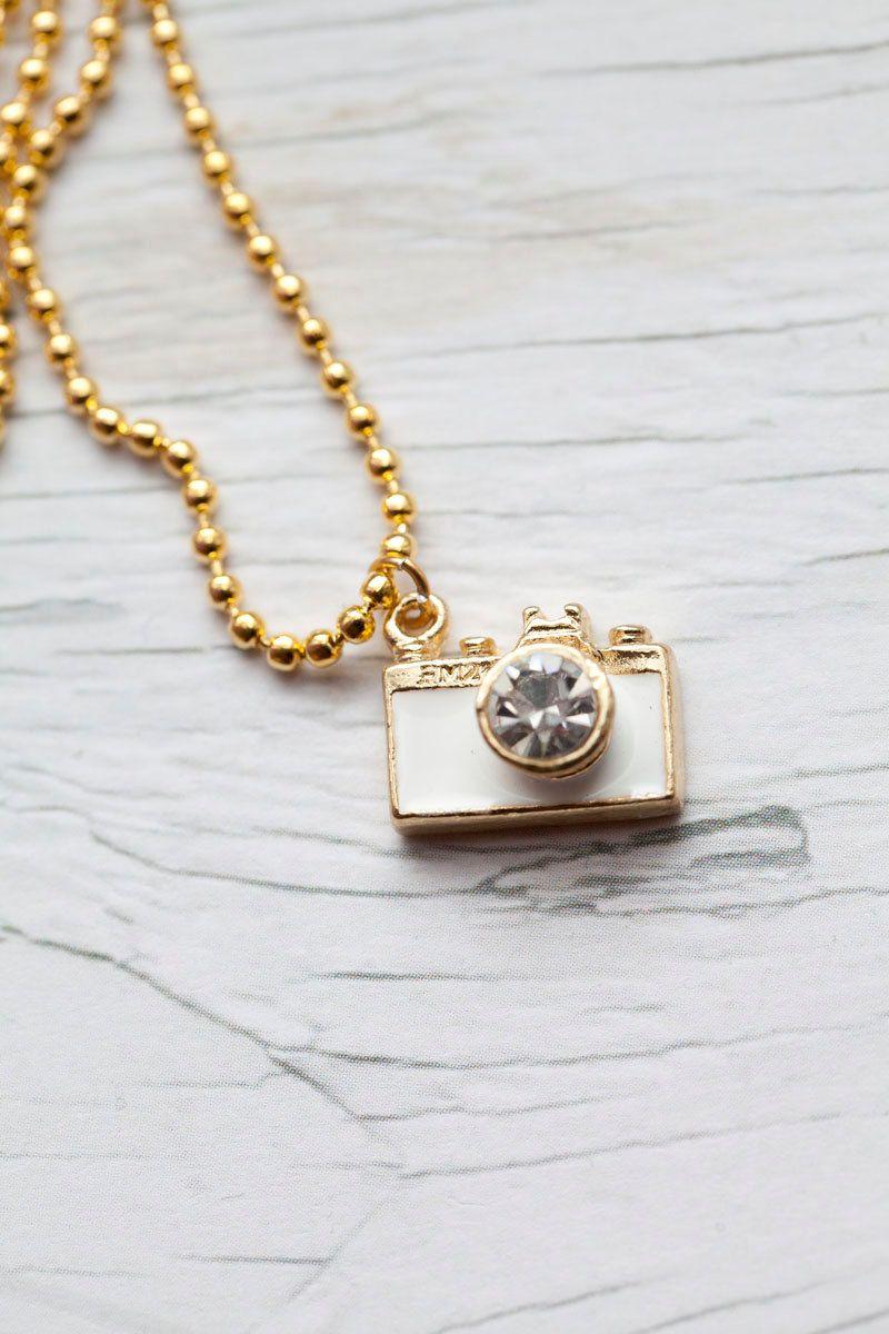 135a0f5268d5 Camera Pendant | Jewelry | Gold dress shoes, Pendants, Jewelry