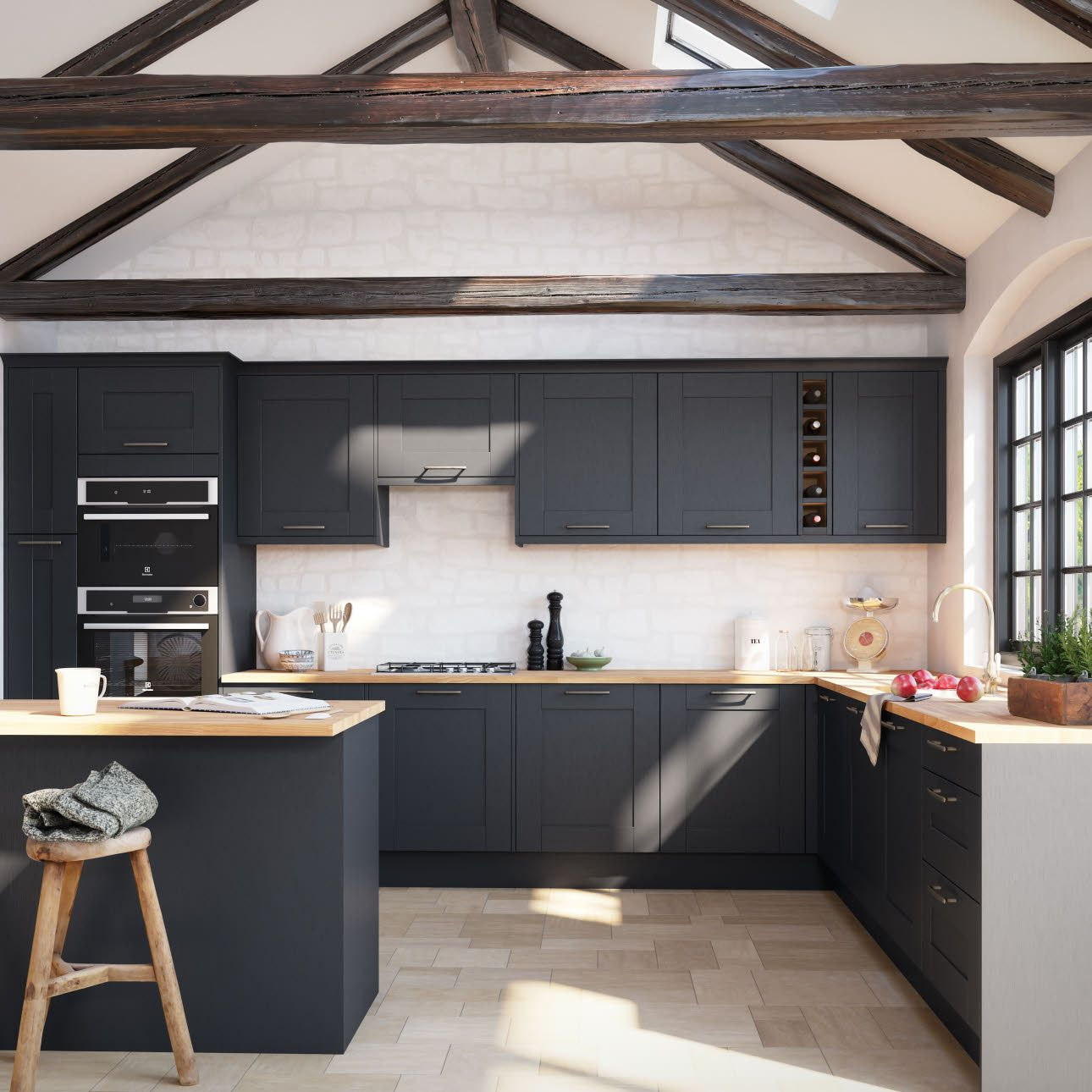 5 Things To Consider When Hiring A Kitchen Designer To Increase Your House Value House Design Kitchen Modern L Shaped Kitchens Tiny House Kitchen
