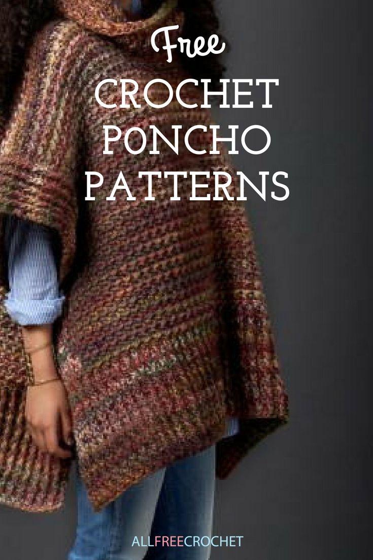 65+ Crochet Poncho Patterns