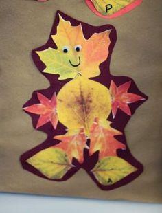 Land art et activités d'automne avec enfants de maternelle #bricolageenfantsautomne