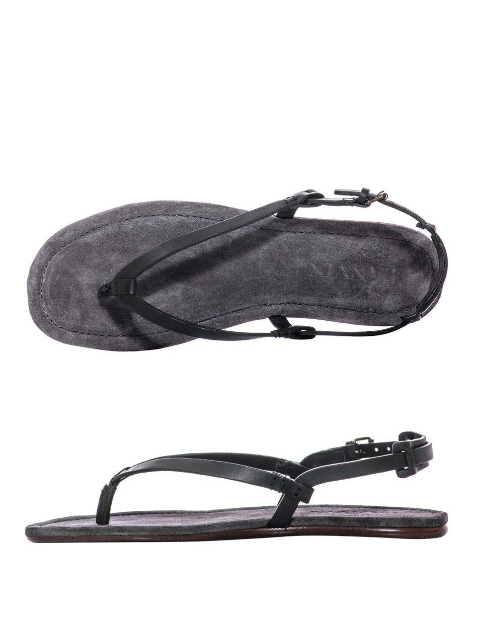 Lanvin Leather Sandals Mens Style Mens Fashion Casual Shoes Mens Leather Sandals Lanvin Leather