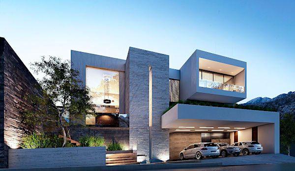 Casa gs de nova arquitectura arquitectura pinterest - Casas arquitectura moderna ...