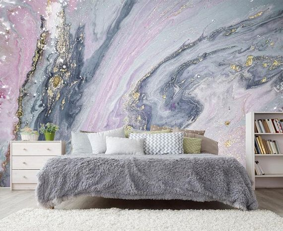 Best Pink Silver Gold Marble Wallpaper 3D Wall Sticker Decor 640 x 480