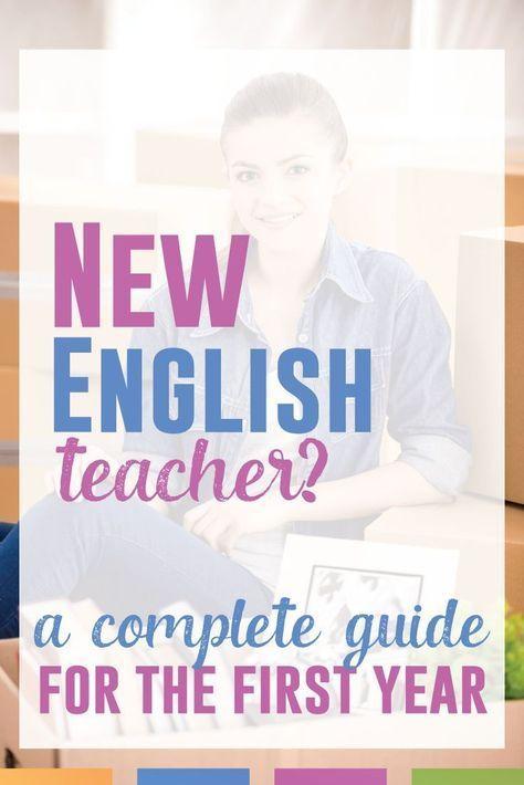 Are you a new ELA teacher? English teachers unite! This series will ...