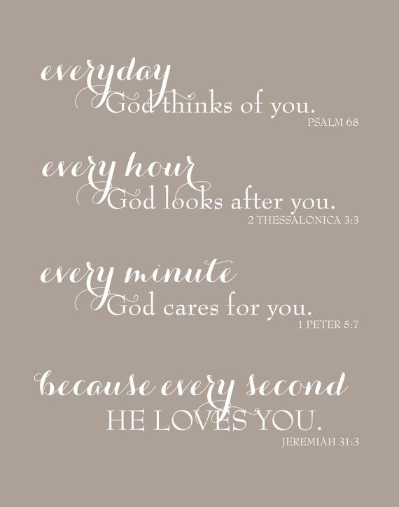 Superior Everyday God Loves You Inspirational Scripture By Karimachal Pictures Gallery