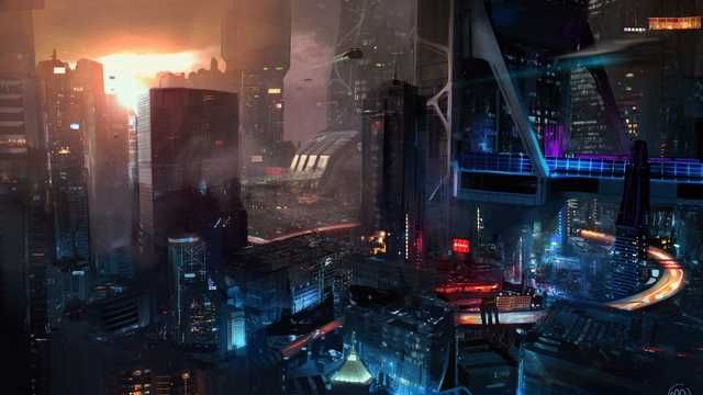 cyberpunk wallpapers (1920x1080) Cyberpunk city